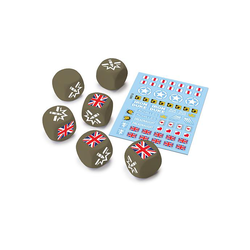 World of Tanks Miniature Game: U.K. Dice and Decals