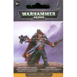 Imperial Guard Lord Commisar (finecast)