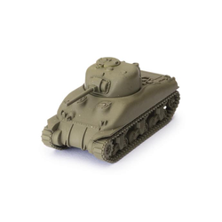 World of Tanks Miniature Game Expansion: American - M4A1 75mm Sherman