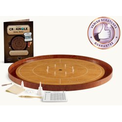 Crokinole Tournament Set (beech/cherry)