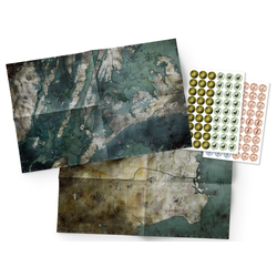 Mutant: Year Zero - Maps & Markers Pack