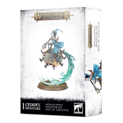 Disciples of Tzeentch Magister on Disc
