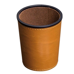 Brown Dice Cup