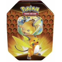 Pokemon TCG: Hidden Fates Tin (Raichu-GX)