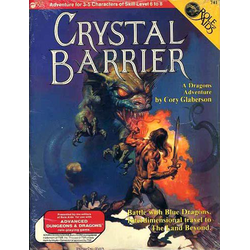 ADD: Role Aids, Crystal Barrier (1987)