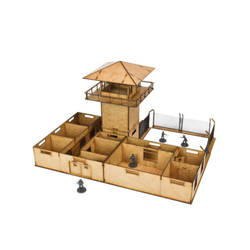 The Walking Dead: All Out War - The Prison MDF Scenery Set