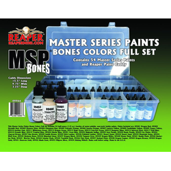 Reaper Master Series Bones Ultra-Coverage Paints Basic Set (09401-09454)