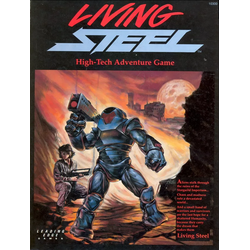 Living Steel - High-Tech Adventure Game