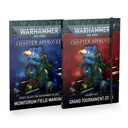 Warhammer 40K: Chapter Approved Mission Pack Grand Tournament 2020 and Munitorum Field Manual