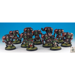 Fantasy Football Orcs - Team (11, metal, old sculpt) (Black Scorpion)