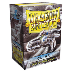 Dragon Shield Sleeves - Standard Clear (100 ct. in box)