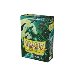 Dragon Shield Sleeves - Japanese Size Matte Olive (60 ct. in box)
