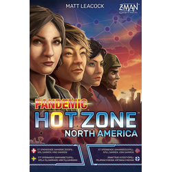 Pandemic: Hot Zone – North America (sv. regler)