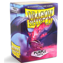 Dragon Shield Sleeves - Standard Matte Purple (100 ct. in box)