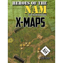Lock 'n Load Tactical: Heroes of the Nam - X-Maps