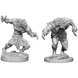 Nolzur's Marvelous Miniatures (unpainted): Werewolves