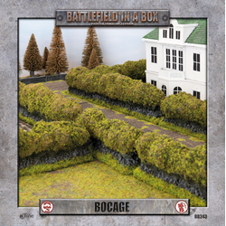 Battlefield in a Box: Bocage (flocked) 15mm