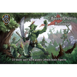 Shieldwolf Miniatures: Forest Goblin Infantry (hard-plastic)
