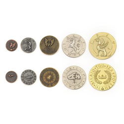 Metal Coins Mythological Creatures (50 st)