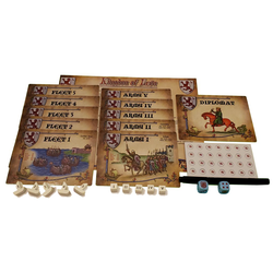 Swords & Sails: Minor Player Expansion - Kingdom of Leon