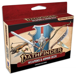 Pathfinder RPG: Weapons and Armor Deck
