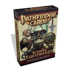 Pathfinder Cards: Iconic Equipment Item Cards 3