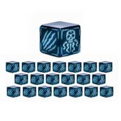 Cthulhu Wars: Battle Dice Light Blue (20)