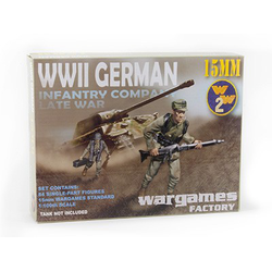 WWII German Infantry Company 15mm