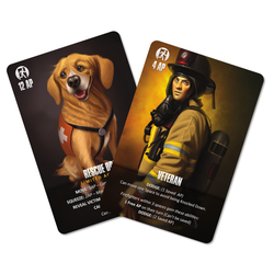 Flash Point Fire Rescue - Veteran and Rescue Dog Pack