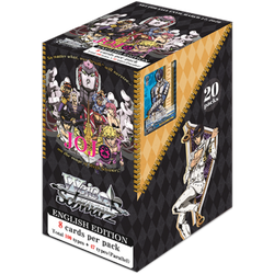 Weiβ Schwarz: JoJo's Bizarre Adventure - Golden Wind Booster Display (20 booster packs)
