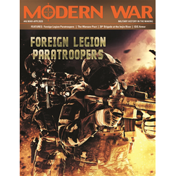 Modern War, Issue 46 -  Foreign Legion Paratroopers