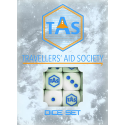 Traveller 4th ed: Aid Society Dice Set