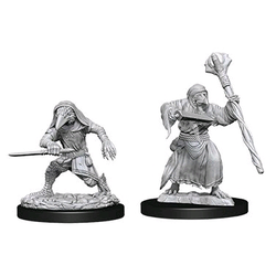 Nolzur's Marvelous Miniatures (unpainted): Kenku Adventurers