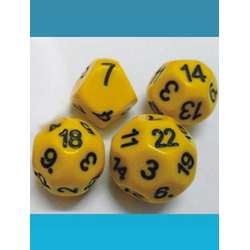 Impact Dice D7 - Yellow