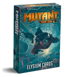 Mutant: Year Zero - Elysium Custom Card Deck