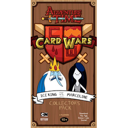 Adventure Time Presents: Card Wars (Ice King vs. Marceline)