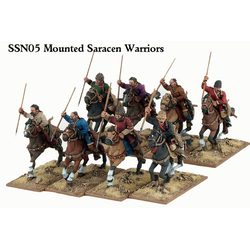Saga Saracen Mounted Warriors (8)