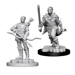 Nolzur's Marvelous Miniatures (unpainted): Male Human Ranger