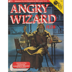 ADD: Role Aids, Angry Wizard, Fez III (1984)