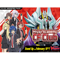 Cardfight!! Vanguard: Miyaji Academy CF Club Display (16 booster packs)