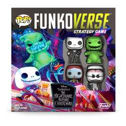 Funkoverse Strategy Game: Nightmare before Christmas 4-Pack (eng. regler)