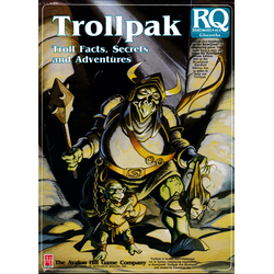 Runequest, 3d Ed: Trollpak, 1988