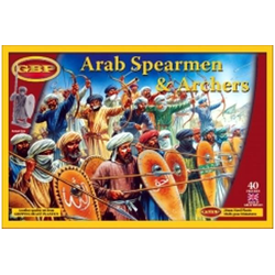Arab Spearmen & Archers (40, Plastic)