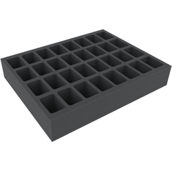Feldherr Full-size 60mm - 32 slots for larger tabletop models (warhammer)