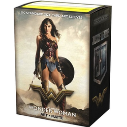 "Dragon Shield Sleeves - Standard Art Sleeves ""Justice League - Wonder Woman"" (100 ct. in box)"