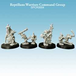Reptilians Warriors Command Group (8)