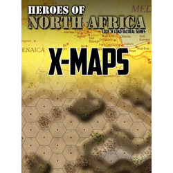 Lock 'n Load Tactical: Heroes of North Africa - X-Maps