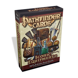 Pathfinder Cards: Iconic Equipment Item Cards 2
