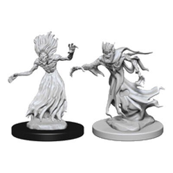 Nolzur's Marvelous Miniatures (unpainted): Wraith and Specter (2)