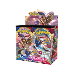 Pokemon TCG: Sword & Shield Booster Display (36 boosters)